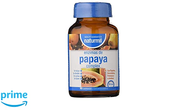 Dietmed Enzimas de Papaya Complex - 100 gr: Amazon.es: Salud y ...