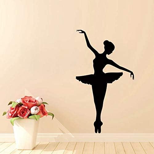 calcomanía decorativa de ballet