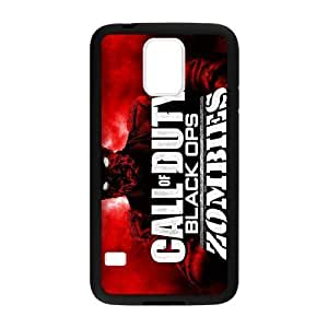 Call Of Duty Samsung Galaxy s5 Case Shell Cover (Laser Technology) by supermalls