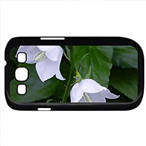 Summer Bells (Flowers Series) Watercolor style - Case Cover For Samsung Galaxy S3 i9300 (Black)