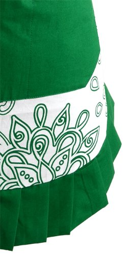 Flirty Aprons Women's Original Apron, Green Goddess by Flirty Aprons
