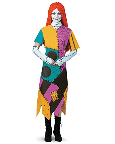 [Cartoon Character Sally The Nightmare Before Christmas Costume Tim Burton Sizes: One Size] (The Nightmare Before Christmas Sexy Jack Costumes)
