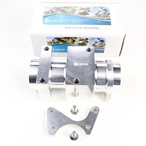 - NICHE Billet Forged Rear Axle Bearing Carrier for Suzuki Quadsport LTZ400 2003-2008