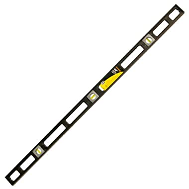 48'' Mayes® Magnetic-V Groove Poly Level-Black