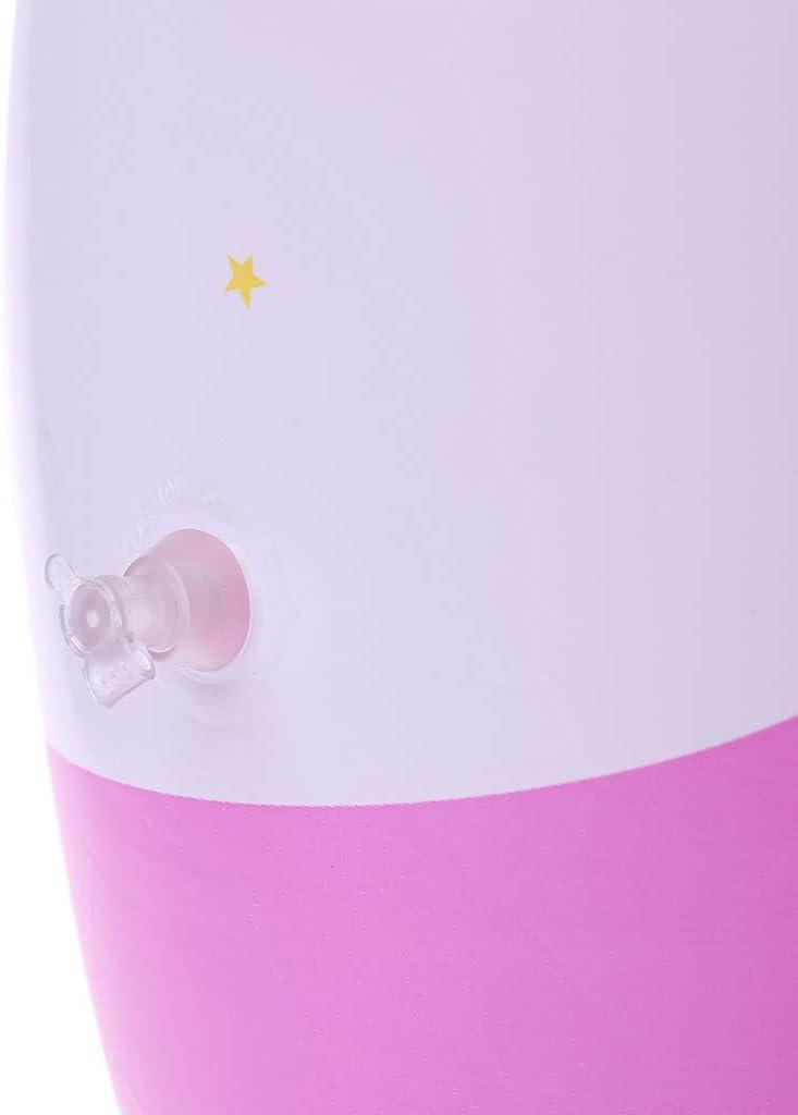 Random Vaso inflable de ping/üino Lamdoo para ni/ños juguetes inflables pvc 45x15x15cm