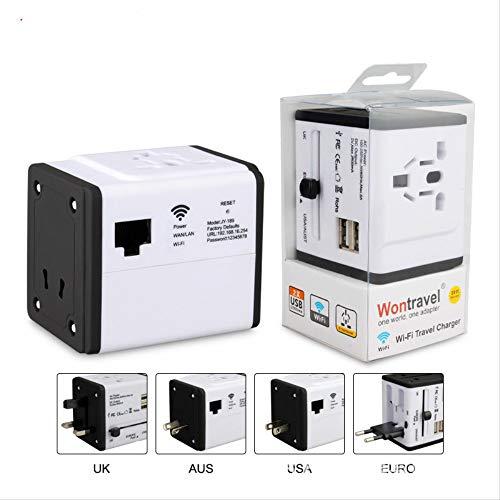 Conversion Socket Wifi Travel Adapter Double Usb Socket Gift Switch Socket Go Abroad Conversion Plug