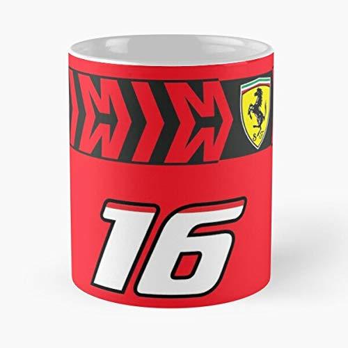 Charles 1 Leclerc One Sf90 Ferrari F1 Scuderia Formula Best 11 Ounce Ceramic Coffee Mug Gift