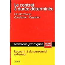 CONTRAT À DURÉE DÉTERMINÉE (LE) AVRIL 2014