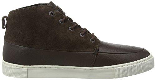 Hub Camden L37 - Zapatillas, Hombre Marrón (Dark Brown/Lite Grey 012)