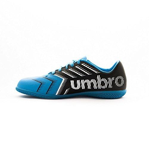 Umbro Umbro Stadia 3 Ic - Bota para hombres, color negro / blanco / bluebird