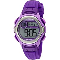 Armitron 45/7070PUR Sport Women's Accented Digital Purple Resin Strap Watch (Lavender)