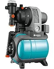 GARDENA Classic Hauswasserwerk 3000/4 eco: Hauswasserpumpe mit Thermoschutzschalter