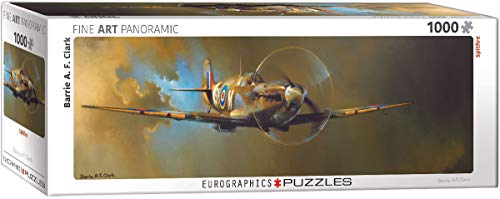 EuroGraphics Spitfire by Barrie A.F. Clark 1000-Piece Puzzle