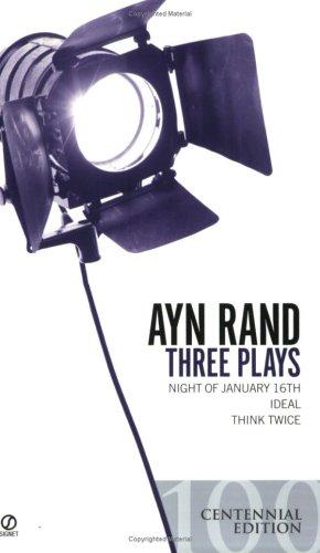 Three Plays: Night of January 16th, Ideal, Think Twice