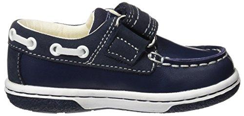 Geox B Flick Boy C, Mocasines para Bebés Azul (Navy/whitec4211)
