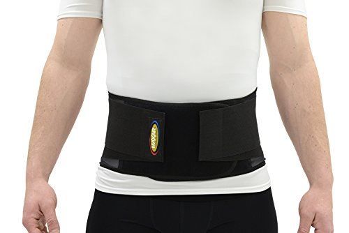 Maxar Work Belt - (Industrial Lumbo-Sacral Support) - Economy, Size: L - Lumbosacral Abdominal Muscle Support