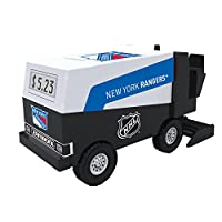 NHL Hockey New York Rangers Digital Electronic Zamboni Coin Counting Bank