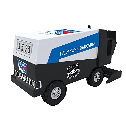 nhl-hockey-new-york-rangers-digital-electronic-zamboni-coin-counting-bank
