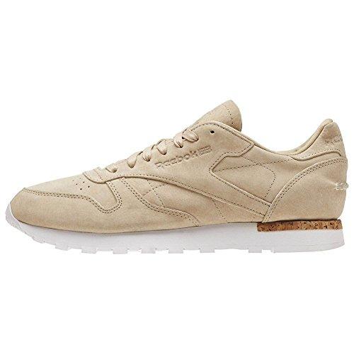 Reebok Schuhe – Cl Leather Lst beige/braun/weiß
