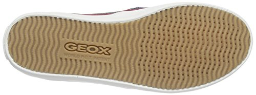 Geox JR KIWI GIRL D, Mocassins fille Bleu - Bleu denim (C4001)