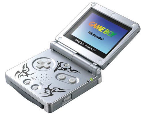 GameBoy Advance - Konsole GBA SP #Tribal Edition: Amazon.es ...