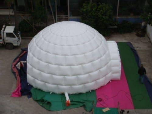 Air-Ads - Señales hinchables para Eventos (26 pies, 8 m), diseño de cúpula de iglú Gigante, sin soplador: Amazon.es: Jardín