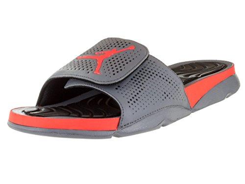 25c5c95dd3c8 Nike Jordan Men s Jordan Hydro 5 Cool Grey Hyper Orange Black Sandal 13 Men  US - Buy Online in Oman.