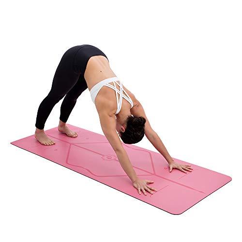 Liforme Esterilla Yoga De Viaje - Mejor Colchoneta De Yoga del Mundo con Sistema De Alineación Original y Patentado - Yoga Mat Ecológica y Respetuosa ...