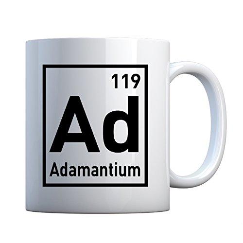 (Mug Adamantium Large Pearl White Gift Mug)