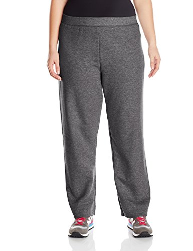 Cotton Blend Sweatpants (Just My Size Women's Plus-Size Fleece Sweatpant, Slate Heather, 1XL)