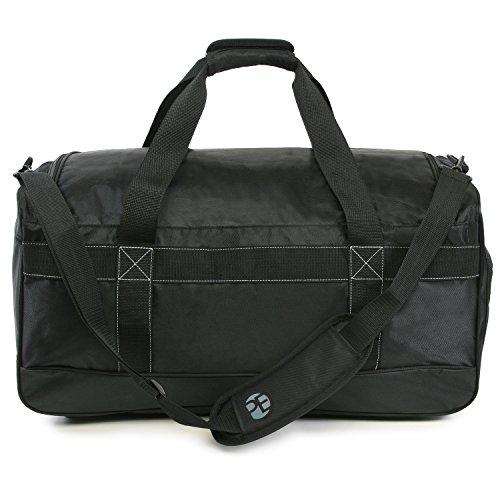 """41DTPRrC1jL - Perry Ellis 22"""" Weekender Duffel Bag, Black"""