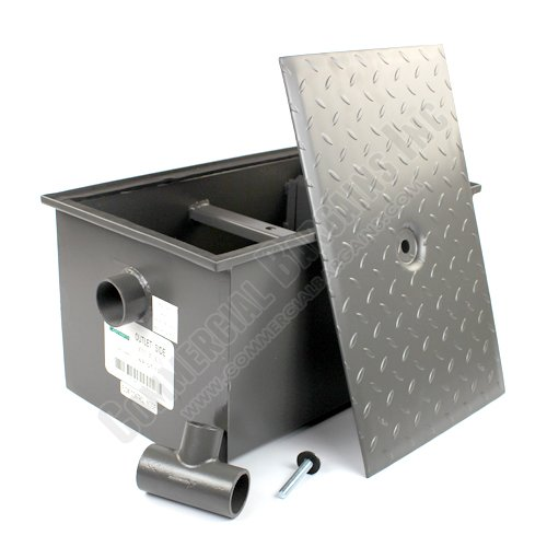 WentWorth 20 Pound Grease Trap Interceptor 10 GPM Gallons Per Minute WP-GT-10 by Wentworth