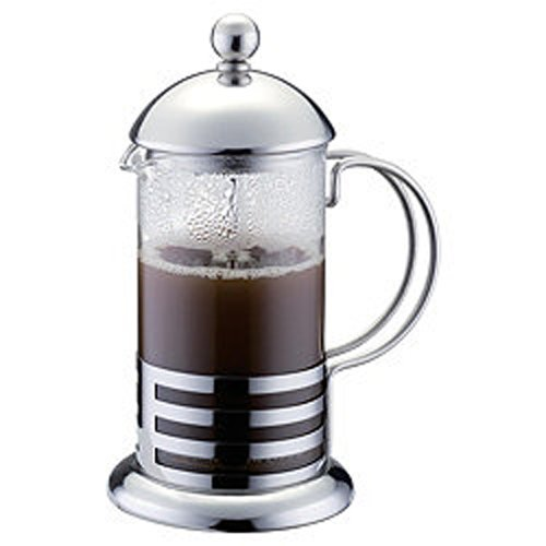 Kabalo Classic 350ml / 3-cup Stainless Steel Glass Cafetiere French Filter Coffee Press Plunger by Kabalo (Image #1)