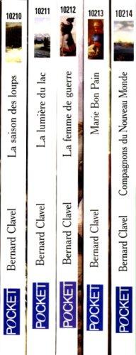 Les Colonnes du ciel (coffret : 5 volumes) par Bernard Clavel
