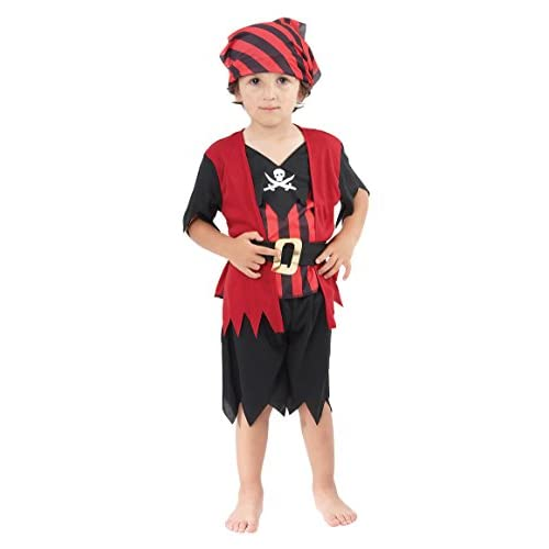Bristol Novelty Pirate Mate Boy Toddler Costume Age 2–3ans