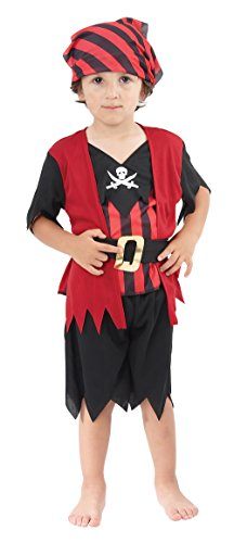 Toddlers Pirate Boy Mate Costume (Pirate Outfits For Toddlers)
