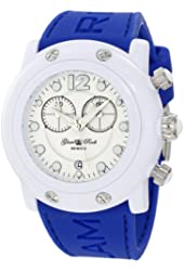 Glam Rock Women's GK1148-SLH Miami Beach Chronograph White Dial Royal Watch