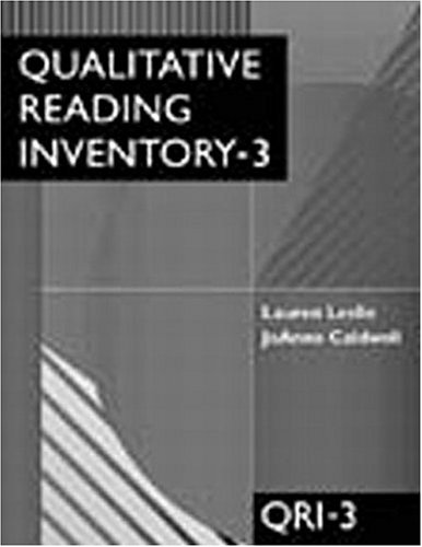 Qualitative Reading Inventory-3 (3rd Edition)