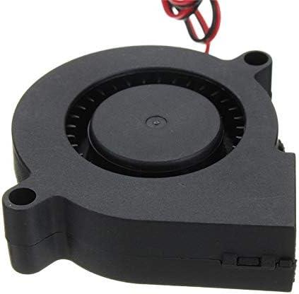 1PC 12V 2Pin Brushless Blower DC Cooling Fan 5015 50x50x15mm 3D Printer Extruder Sala-Deco