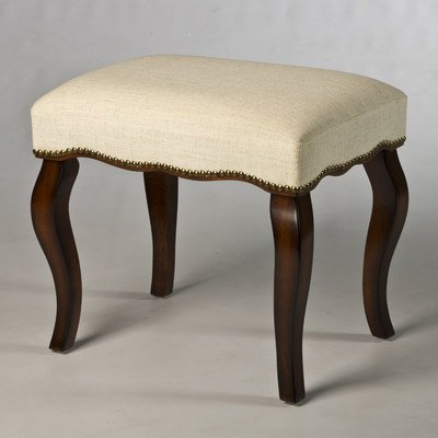 Hillsdale Furniture Hamilton Vanity Stool with Nail Heads, B