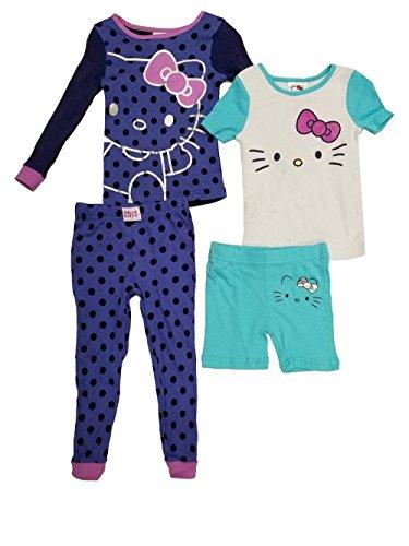 - Hello Kitty Komar Kids 4 Piece Sleepwear Set (5)