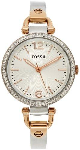 Fossil-Womens-ES3447-Georgia-Analog-Display-Analog-Quartz-Two-Tone-Watch