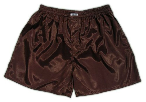 Satin Brown Underwear Men Boxer Shorts Sleepwear l xYw1pqdq