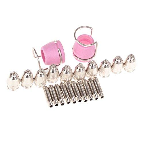 zfer-sg-55-ag-60-wsd-60p-plasma-cutting-torch-pilot-arc-consumables-kits-pack-of-24pcs-set