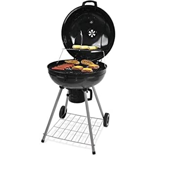 Backyard Grill 22u0026quot; Kettle Charcoal Grill, ...