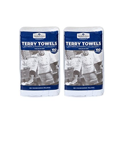 Member's Mark Terry Towels - 60 pk. (pack of 6)
