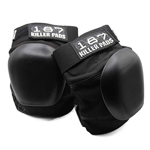- 187 Killer Pro Derby Knee Pads - Black - Medium