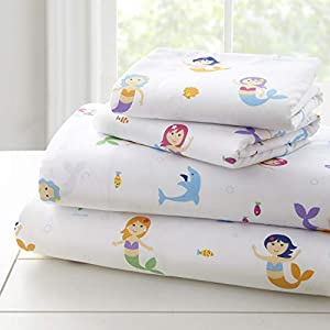41DTSjYcdYL._SS300_ Mermaid Crib Bedding and Mermaid Nursery Bedding Sets