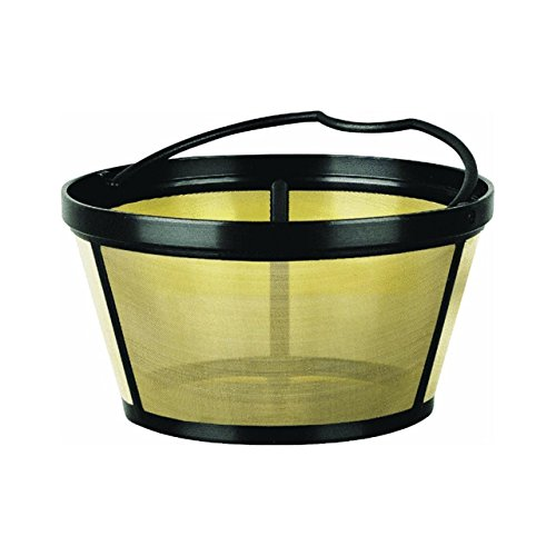 Mr. Coffee Basket-Style Gold Tone Permanent Filter (Coffee Basket Style Filter)
