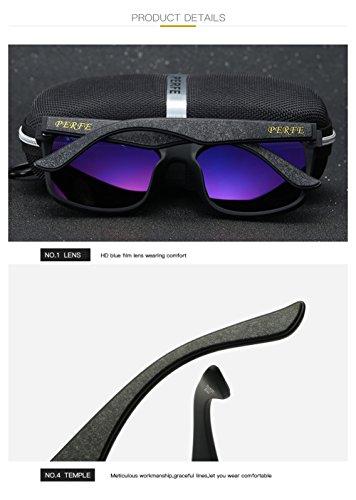 Gafas para Hombre UV Mujer C2 Sol Polarizadas 400 para C3 Protección Aviator De BwqIrB6